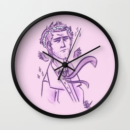 The Prettiest Angel In The Garrison Wall Clock