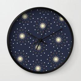 Mesmerizing Stars Wall Clock