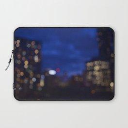 blurry nights Laptop Sleeve
