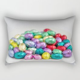 Easter Plate VIII Rectangular Pillow