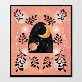 Dandelion Galaxy Canvas Print