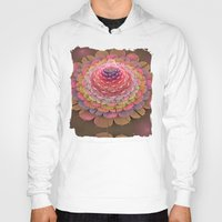 fairy tale Hoodies featuring Fairy-tale Trumpet Flower by thea walstra