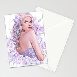 Lady Amethyst Stationery Cards