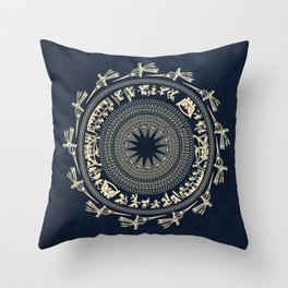 Dong Son drum, Vietnam Throw Pillow