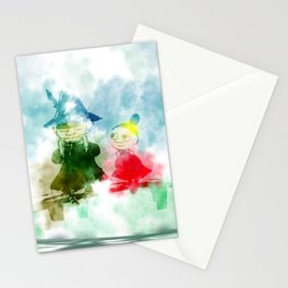 little my and snfukin Stationery Cards