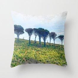 Trapani art 13 Sicily Throw Pillow