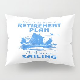 SAILING PLAN Pillow Sham