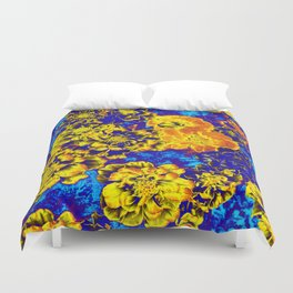 Electric Floral Duvet Cover