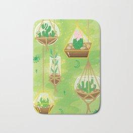 Cacti Terrariums Bath Mat