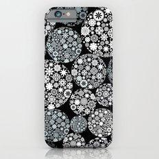 Snow flowers. iPhone 6s Slim Case