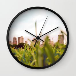 Sheep Meadow (Central Park, New York) Wall Clock