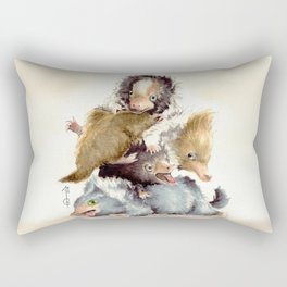 Niffler babies Rectangular Pillow