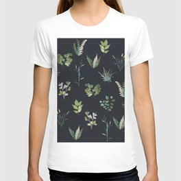 Green Nature Pattern T-shirt