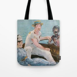 Boating on Friday the 13th Tote Bag