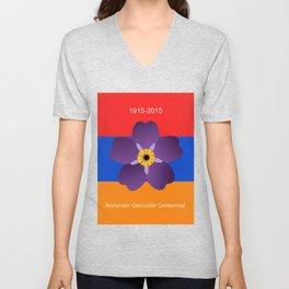 Armenian Genocide Centennial  Unisex V-Neck