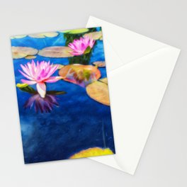 Waterlilies Stationery Cards