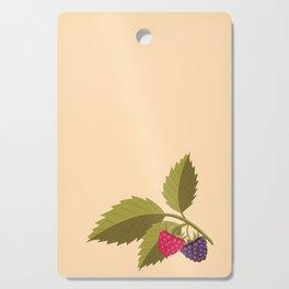 sprig with raspberry Cutting Board