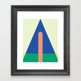 Cacho Shapes XCI Framed Art Print