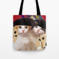 cateou twins Tote Bag