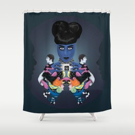 Inside/Out Shower Curtain