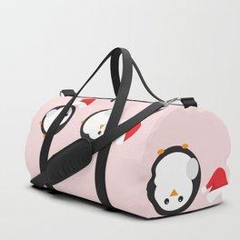 Mr P. The Christmas Penguin Duffle Bag