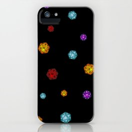 D20 Dice iPhone Case