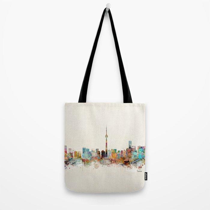 Toronto Ontario skyline Tote Bag