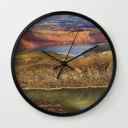 Millions of Years in Color Wall Clock