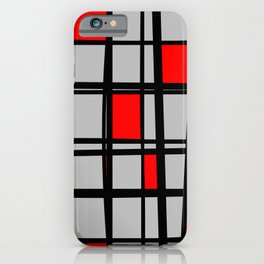 Gridlock - Abstract iPhone Case