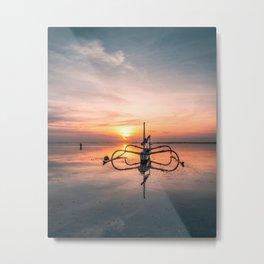 BALI SUNRISE Metal Print