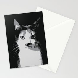A Feline Mastermind Stationery Cards