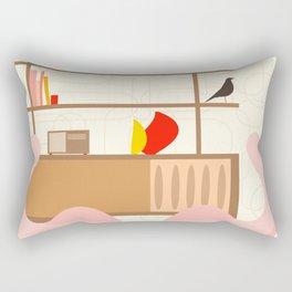 Inside mid century modern 302 Rectangular Pillow