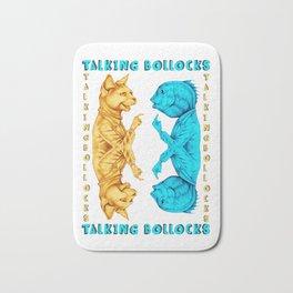TALKING BOLLOCKS Bath Mat