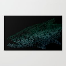 Chinook Hooks #2 Canvas Print