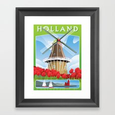 De Zwaan Framed Art Print