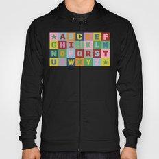 Alphabet Landscape Hoody