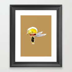 Chibi Wasp Framed Art Print