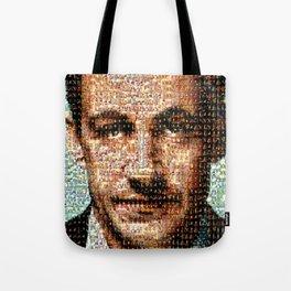 BEHIND THE FACE Sarkozy   Napoleon Tote Bag