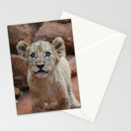 Cutest Lion Cub Ever Stationery Cards