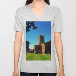 St Giles Unisex V-Neck