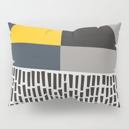 Umbrella Rain Abstract Pillow Sham