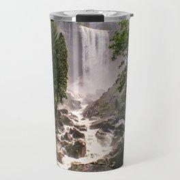 Yosemite Waterfall Travel Mug