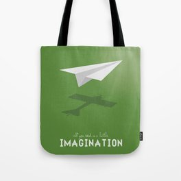 Never Forget to Play - Paper Plane Tote Bag
