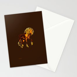 HORSES-Golden Palomino Stationery Cards