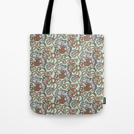 Yarnball Kitty Cat Tote Bag