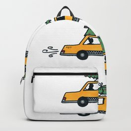 Christmas Cabs, New York Backpack