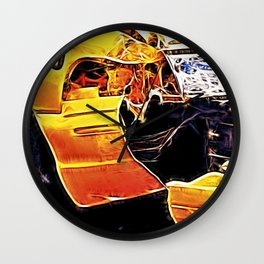 Indented to You Wall Clock
