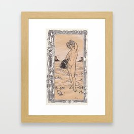 Youth by the Sea Framed Art Print