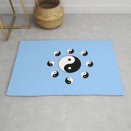 Yin and Yang 17- Tao,Zen,Taoism,Dao,Harmony,religion,buddhism,buddhist,taijitu,taiji,taoist,china Rug