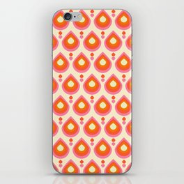 Drops Retro Sixties iPhone Skin